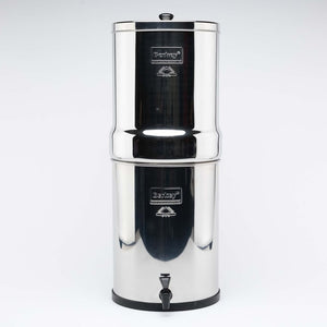 Imperial Berkey Gravity Stainless Steel Water Filter Purifier With 4 Black Berkey Filters
