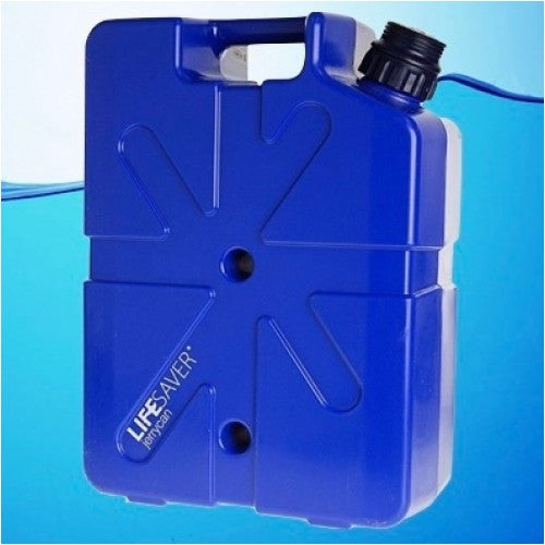 LIFESAVER Jerrycan 20,000UF Water Filter Purifier 20,000 Liter - Dark Blue