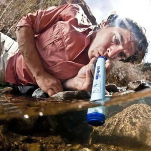 LifeStraw Personal Portable Water Filter Straw
