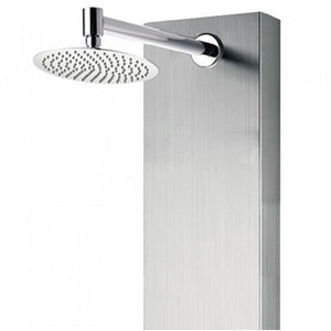 PULSE ShowerSpas 1042-SSB Monterey ShowerSpa Brushed Stainless Steel Shower Panel