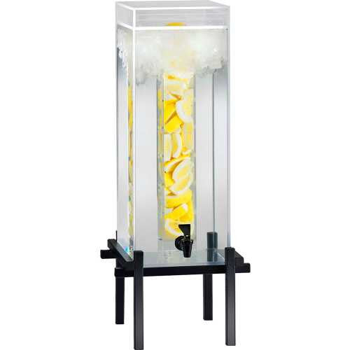 Cal-Mil 3 Gallon Black One By One Water Dispenser With Infusion Core - WaterCheck.biz