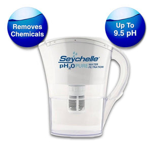 Seychelle pH2O Pure Alkaline Water Filter Pitcher - Small