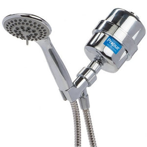 Propur ProMax Chrome Handheld Massage Shower Filter Removes Chlorine, Chloramine, Fluoride, Lead, VOCs