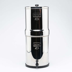 Royal Berkey Gravity Fed Stainless Steel Water Filter Purifier With 4 Black Berkey Filters