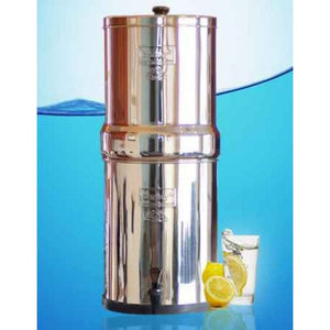 Royal Berkey Gravity Fed Stainless Steel Water Filter Purifier With 4 Black Berkey Filters - WaterCheck.biz