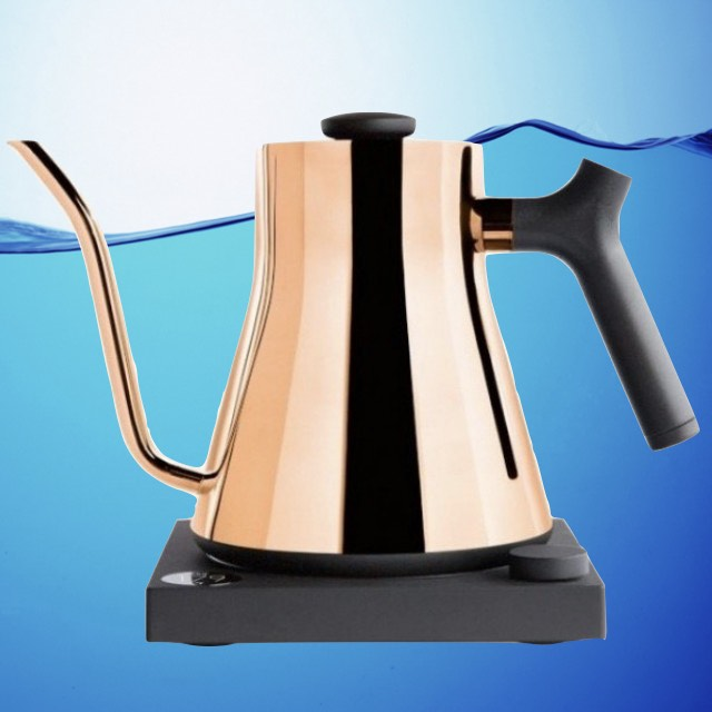 Fellow Stagg EKG Electric Pour Over Water Kettle - Polished Copper