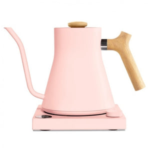 Fellow Stagg EKG Electric Pour Over Water Kettle - Warm Pink - Maple Accents