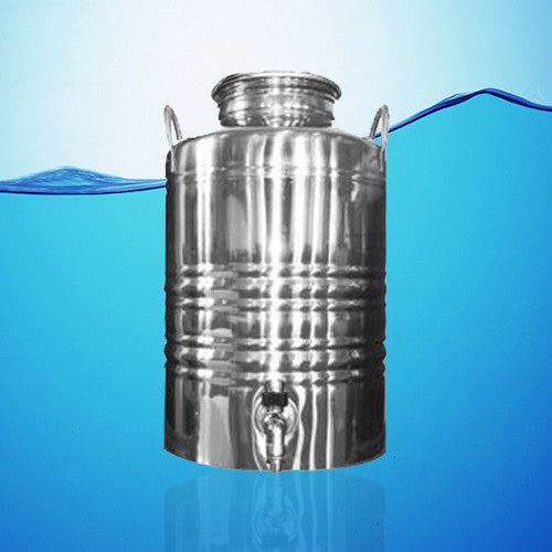 Superfustinox Stainless Steel Water Dispenser Fusti 10