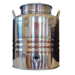 Superfustinox Stainless Steel Water Dispenser Fusti 20 Liter 5.3 Gal - WaterCheck.biz