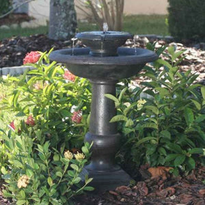 Smart Solar Chatsworth 2-Tier Solar On Demand Fountain - WaterCheck.biz  - 2