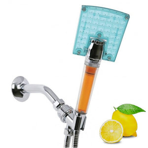Sonaki SBH-114 Waffle Rain Handheld Vitamin C Shower Filter With Pause Feature - Chrome