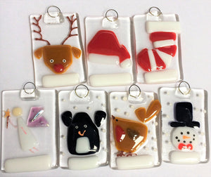 christmas tree decorations - personalised