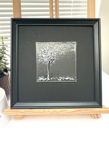 square framed art
