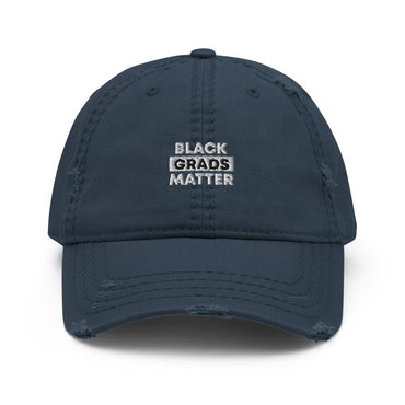 Black Grads Matter Distressed Cap - Gradwear®