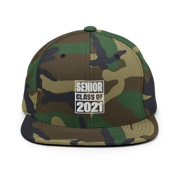 Senior Class of 2021 Snapback Hat - Gradwear®