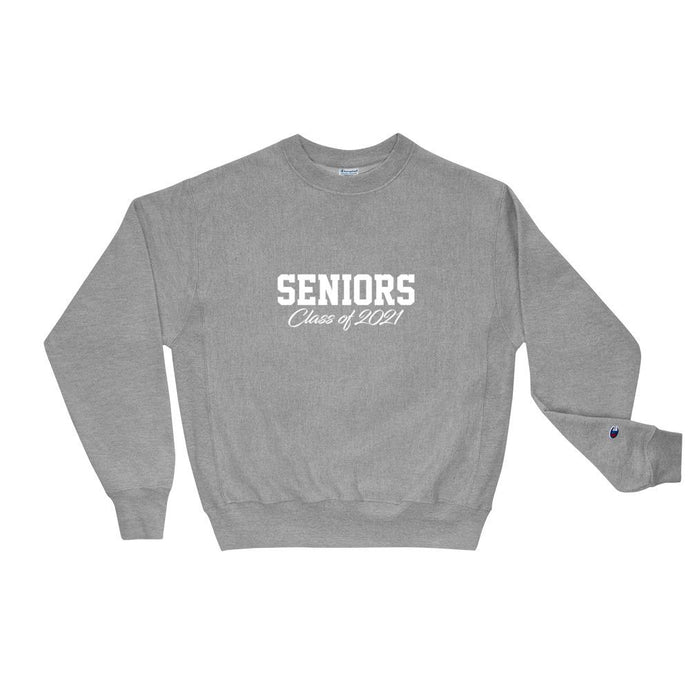 Seniors Class of 2021 Champion Unisex Sweatshirt - Gradwear®