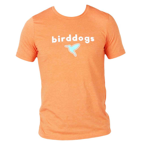 Birddogs Creamsicle Orange Tee Shirt Front