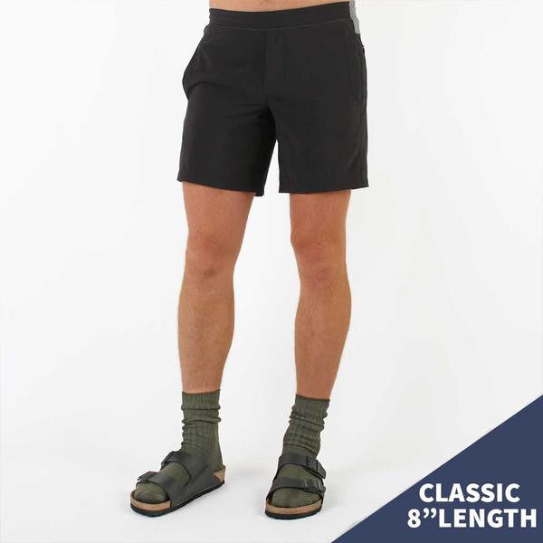 "Birddogs The Duster Black Gym Shorts Gray Liner Model Size Medium Classic 8"" Preorder"