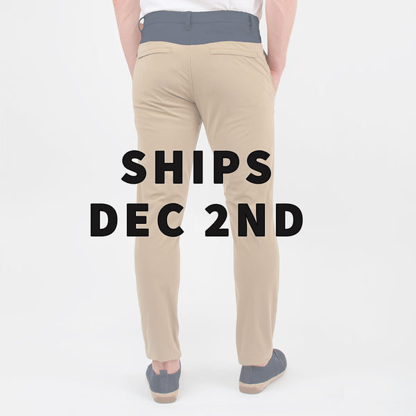 Birddogs The Bi-Curious Georges Khaki Navy Gym Pants Purple Liner Back Preorder Date