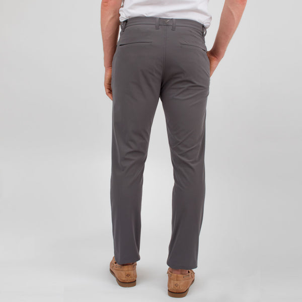 Birddogs Pants Cut Me Some Slacks Khaki Gray Gym Pants Turquoise Liner Back