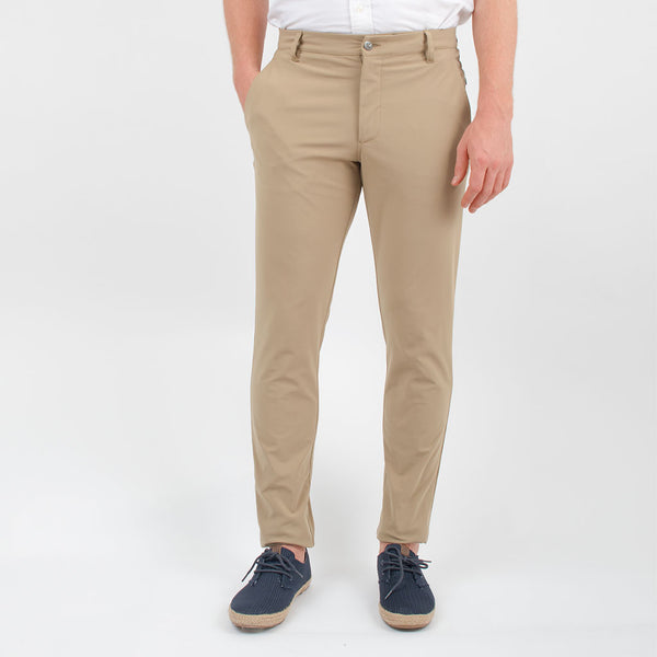 Birddogs Pants Jim Jordashians Khaki Gym Pants Navy Liner Profile
