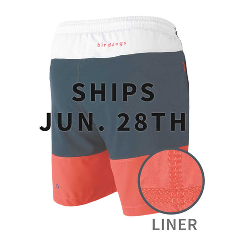 Birddogs Four Score Drawers Red White Blue Gym Shorts Red Liner Main Preorder Ship Date
