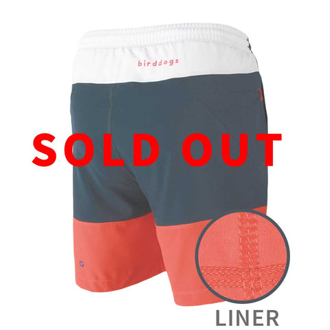 Birddogs Four Score Drawers Red White Blue Gym Shorts Red Liner Main Sold Out