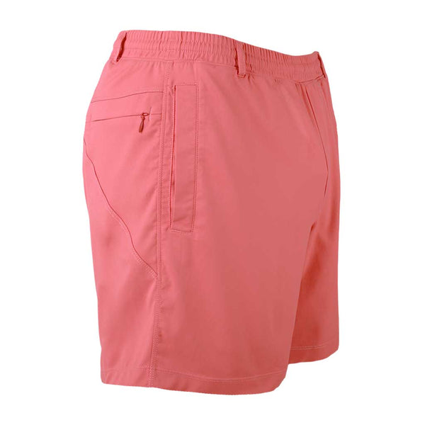 Birddogs Joseph A Banks Khaki Salmon Gym Shorts Navy Liner Front Right Angle