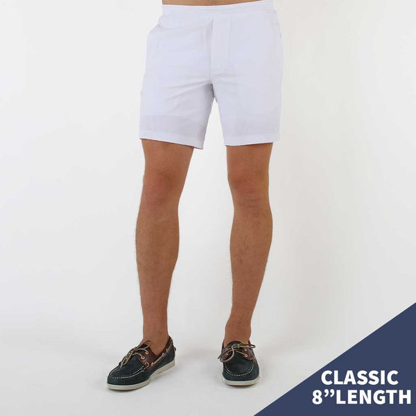 Birddogs La Flama Blanca White Gym Shorts White Liner Model Size Medium Classic 8""