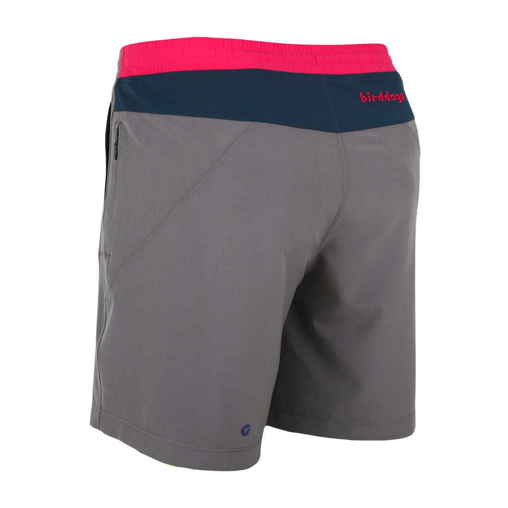 elegant shoes discount coupon best sell Men's Gym Shorts | Gray Pink Athletic Workout Shorts | Birddogs