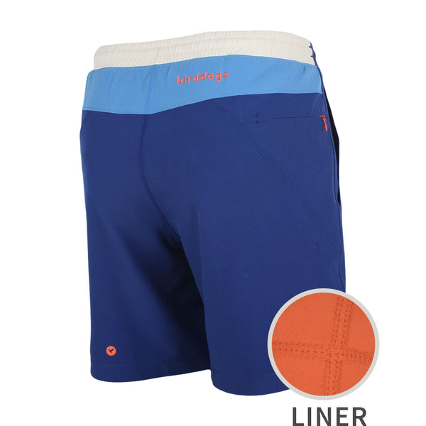 Birddogs The 1 Start Reviews Navy Blue White Gym Shorts Orange Liner Main Preorder