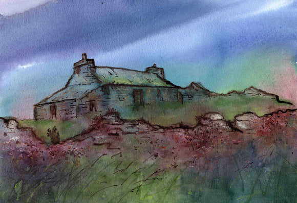 Misty cottage, Orkney