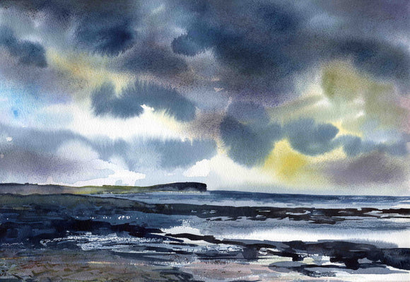 Dark Clouds over Marwick head, Orkney