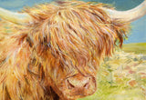 Framed Hamish the Highland Coo