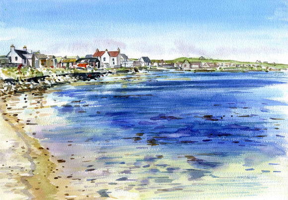 Pierowall village, Westray, Orkney