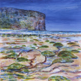 Rackwick beach with seaweed, Hoy