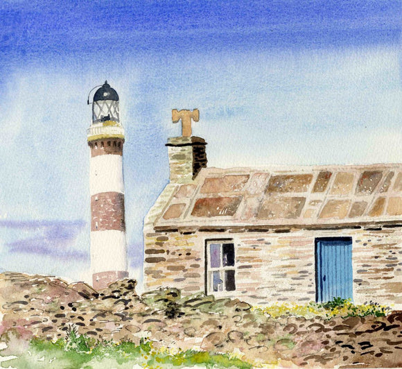 Lighthouse, North Ronaldsay