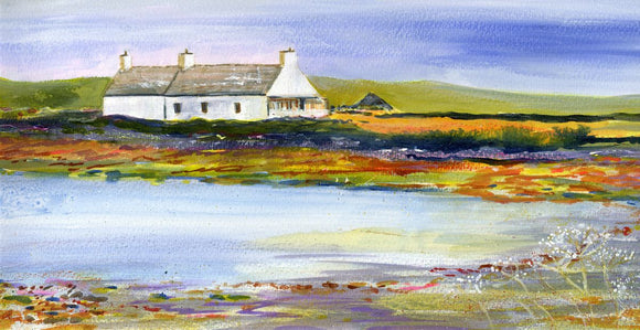 Cottage by the shore in Hoy