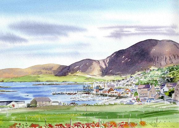 Over looking Hoy from Stromness