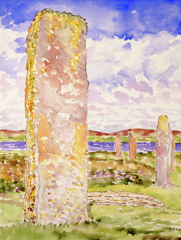 Stones at Brodgar in Orkney