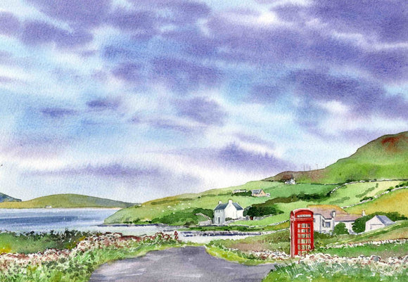 The Red Telephone Box, Rousay
