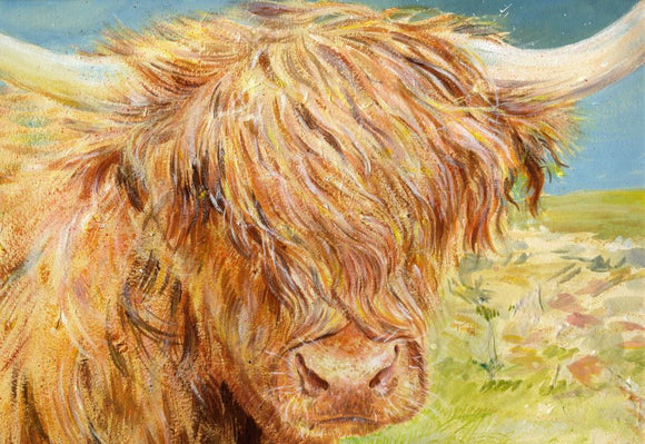 Cards - Hamish the Highland Coo