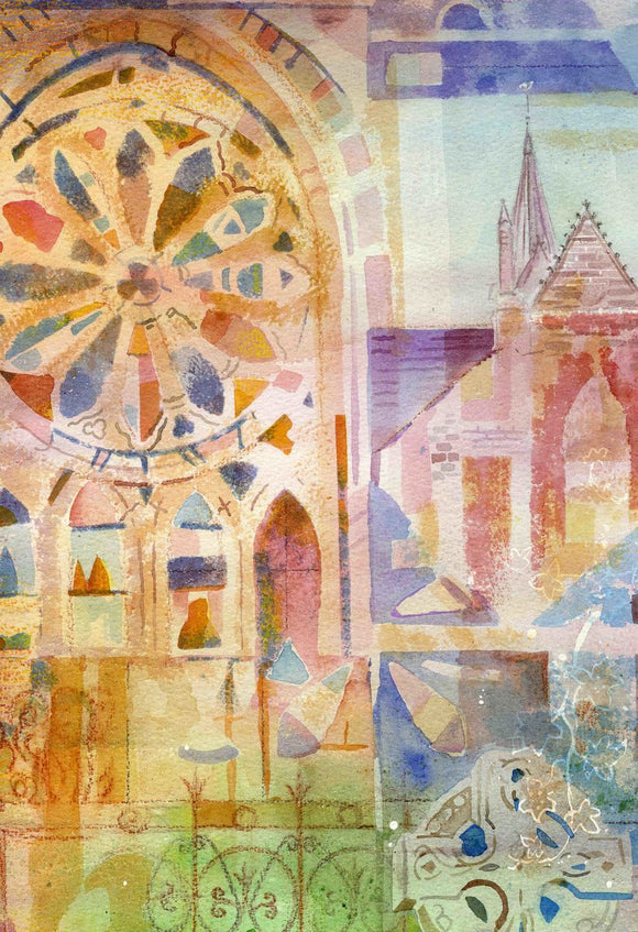 St Magnus cathedral Abstract
