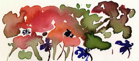 Poppy shapes