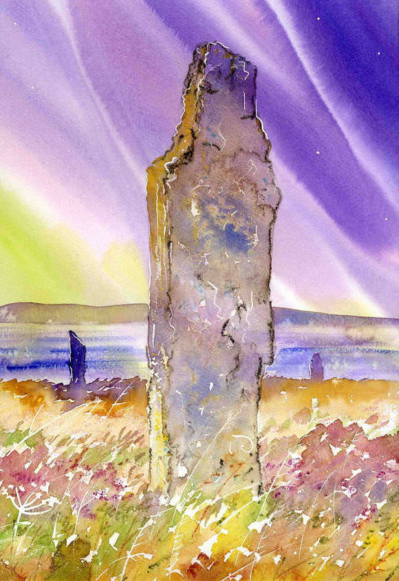 Magic Stones at The Ring of Brodgar, Orkney
