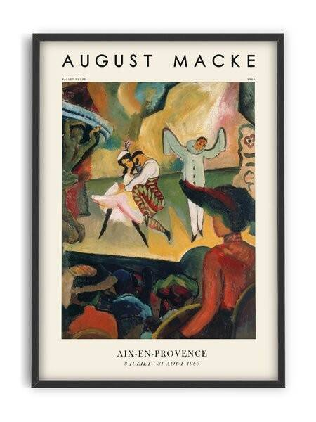 August Macke - Ballet Russe - Interia design AB