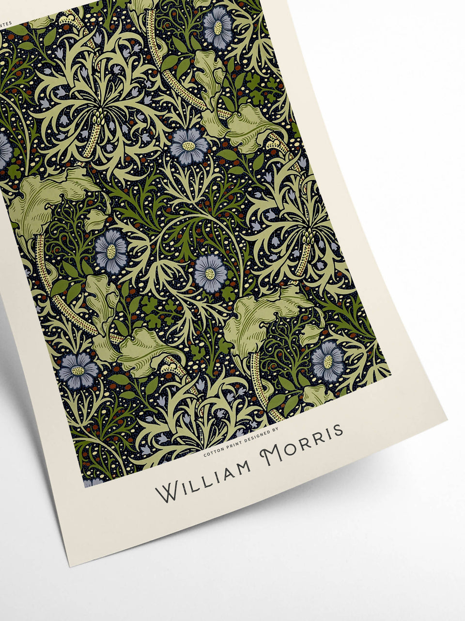 William Morris - Purple flower