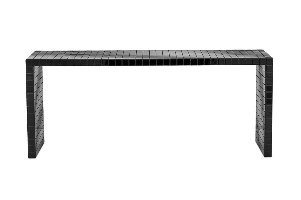 LONG CONSOLE TABLE - BLACK