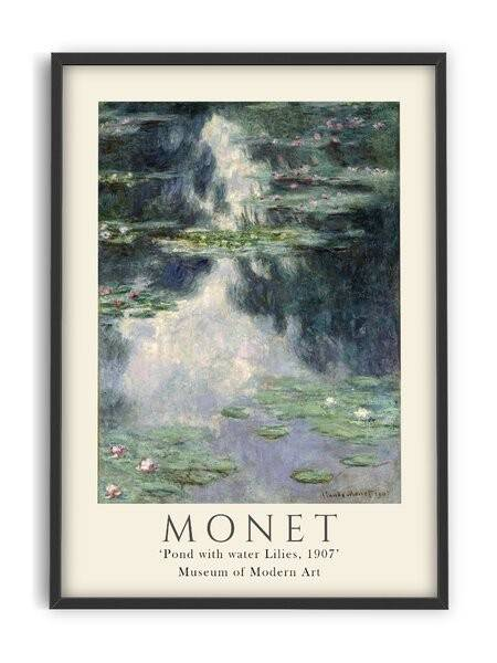 Claude Monet - Pond with lilies - Interia design AB