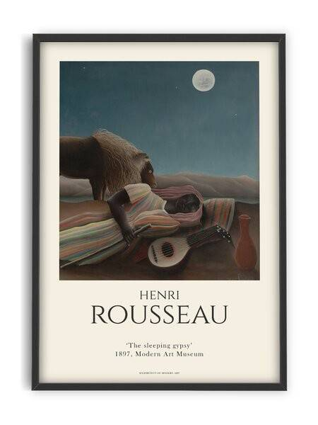 Henri Rousseau - The Sleeping Gypsy - Interia design AB
